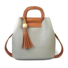 Túi xách đơn giản nữ tính màu gỗ