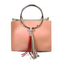 Túi xách nữ giản dị kiểu vòng nhẫn