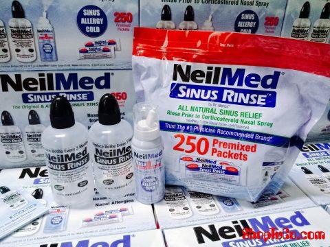 Nước rửa mũi Neilmed Sinus Rinse