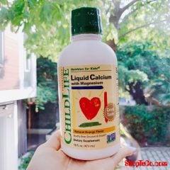 Childlife Luquid Calcium bổ sung canxi và magie