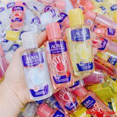 Gel rửa tay khô sát khuẩn AURA