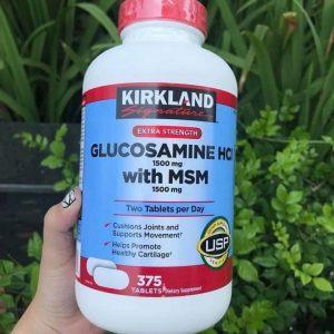Glucosamine Kirkland giảm thoái hóa khớp