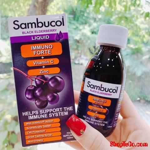Sambucol tăng sức đề kháng