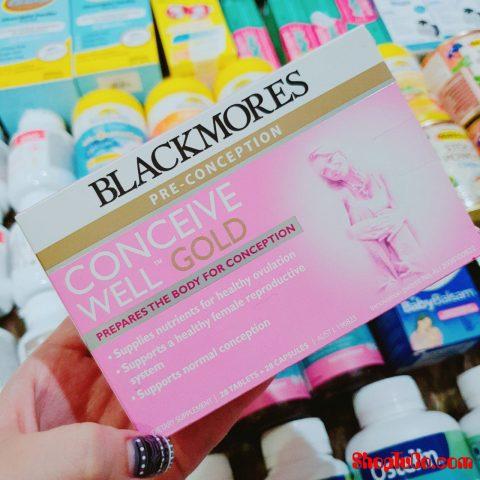 BLACKMORE GOLD tăng khả năng thụ thai