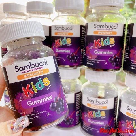 Kẹo dẻo tăng đề kháng Sambucol