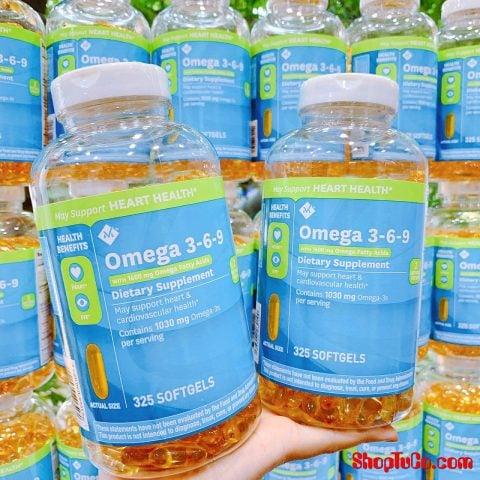 Bổ mắt phòng ngừa tim mạch Omega 369