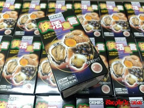 Tinh chất hàu nghệ Orihiro giải độc gan