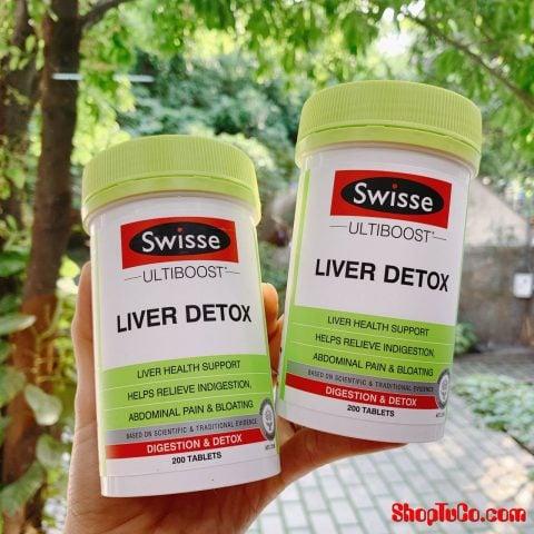 Viên Uống Thải Độc Gan Liver Detox Swisse