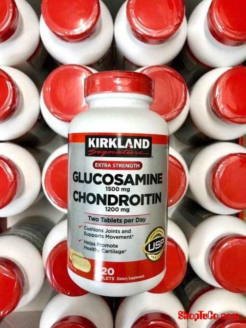 Viên uống Glucosamine & Chondroitin