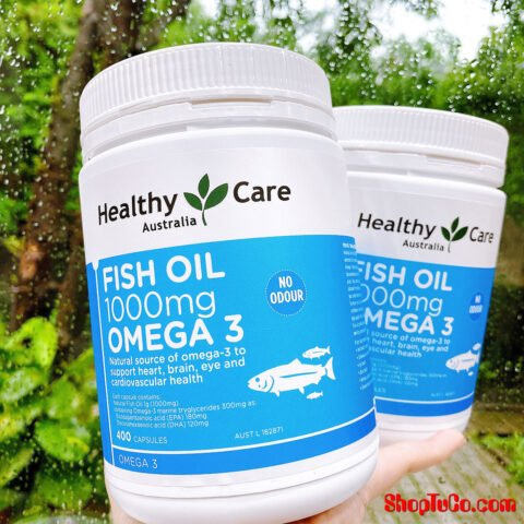 Dầu cá Healthy Care Fish Oil 1000mg