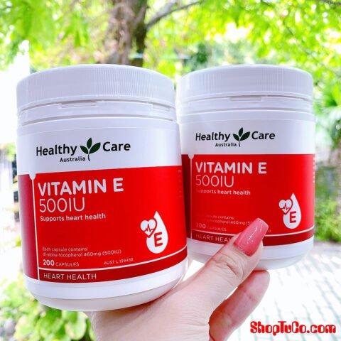 Vitamin E Healthy Care 500iu 200v